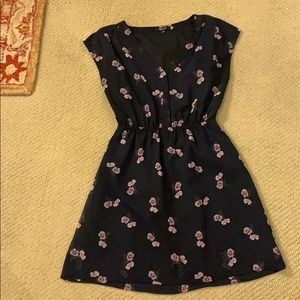 Made well Size 2 Navy Floral Dress Selling for 40